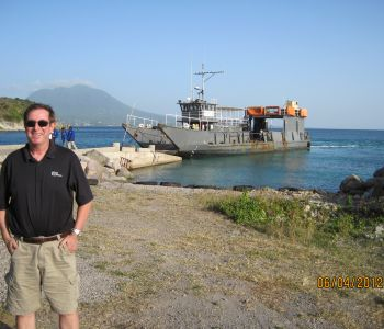 OHM's Pat Marshall at Seabridge Ferry